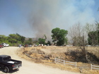 Bakersfield fire spreads from riverbed near Manor Street, Roberts Lane