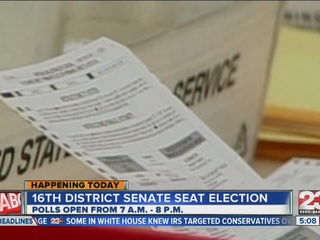 Special election Tuesday for vacant seat