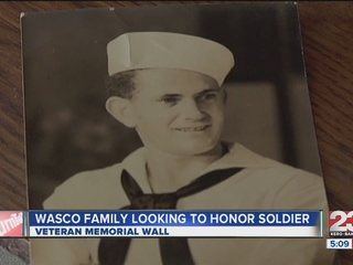 Wasco family working to honor loved one