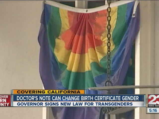 California Governor Signs Bill To Remove Barriers For Transgender