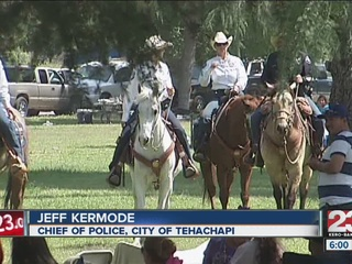 Mounted officers help patrol Hart Park