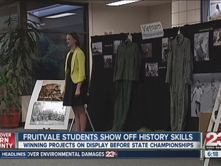 Fruitvale students show off history knowledge