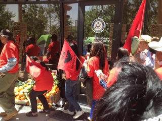 UFW demands McCarthy vote