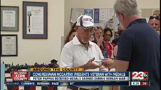 Korean War veteran gets honors in Lake Isabella