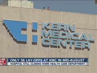KMC: Not as many layoffs as originally expected