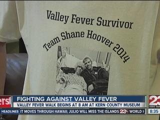 Dozens walk to raise awareness of Valley Fever