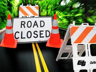 Nighttime lane, ramp closures planned
