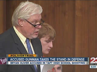 Bryan Oliver testifies in TUHS shooting trial