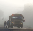 Fog delays issued for some districts in county