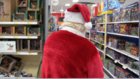 Santa shops for kids in need at Target