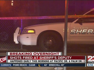 Shots fired at KCSO deputy in East Bakersfield