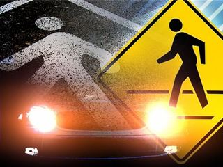 Vehicle vs pedestrian accident in SW Bakersfield