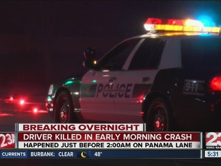 Panama Lane reopened after deadly crash
