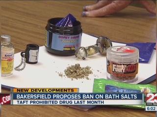 Bakersfield councilman wants bath salt ban