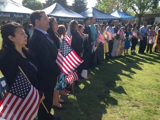 Naturalization ceremony to be held at Beale