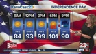 Fourth of July events will be hot but dry
