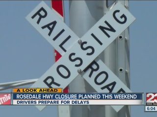 Businesses brace for Rosedale Hwy closure