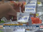 Food safety and school nutrition