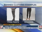 Are yoga pants against school dress codes?