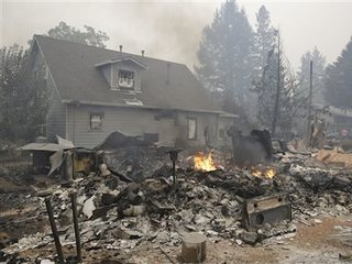 Housing dip due to wildfires