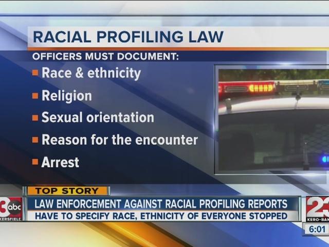 police racial profiling essay