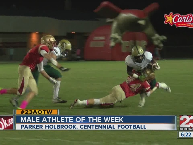 Male athlete of the week: Parker Holbrook