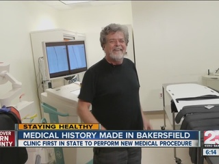 Bakersfield clinic makes history with procedure