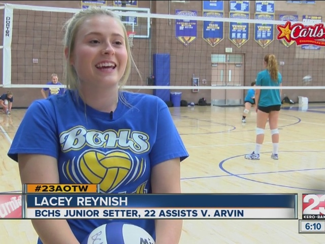 Female Athlete of the Week: Lacey Reynish