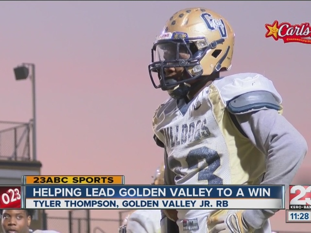 Male Athlete of the Week: Tyler Thompson