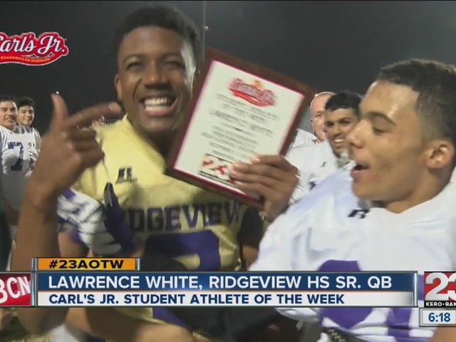 Male Athlete of the Week: Lawrence White