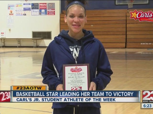Female Athlete of the Week: Kylah McMillon