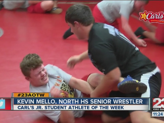 Male Athlete of the Week: Kevin Mello