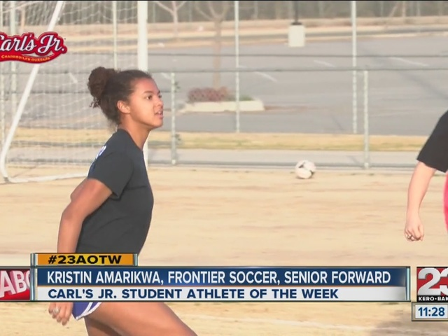 Female Athlete of the Week: Kristin Amarikwa