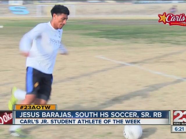Male Athlete of the Week: Jesus Barajas