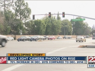 Red light cameras catching more light runners