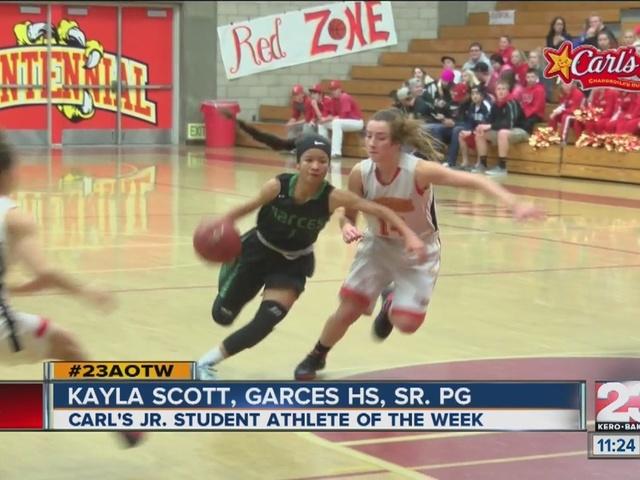 Female Athlete of the Week: Kayla Scott