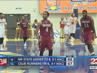 CSUB falls at buzzer in front of record crowd
