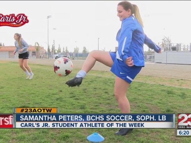 Female Athlete of the Week: Samantha Peters