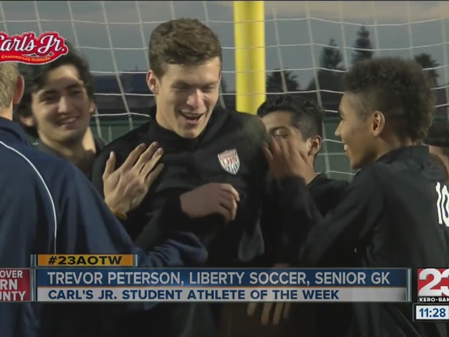 Male Athlete of the Week: Trevor Peterson