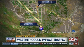Wild weather could impact travel in Kern County