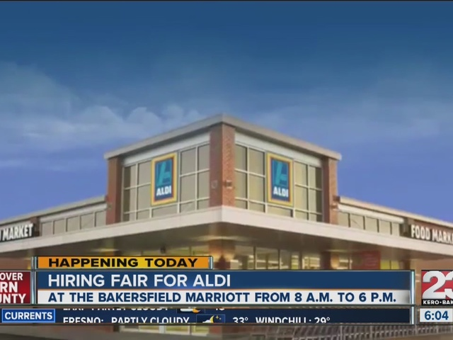 ALDI is hosting a hiring event for associate positions