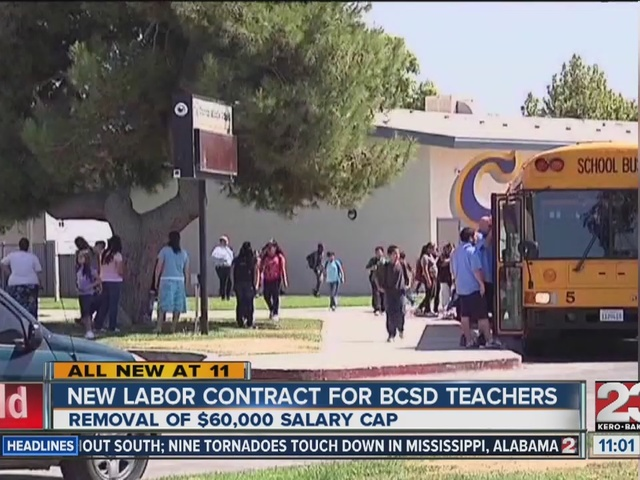 Bakersfield City School District passes new labor contract