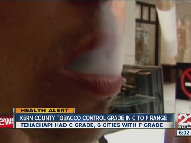 Kern County graded poorly on tobacco control