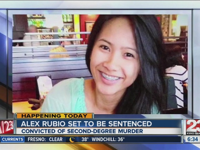 Alex Rubio set to be sentenced