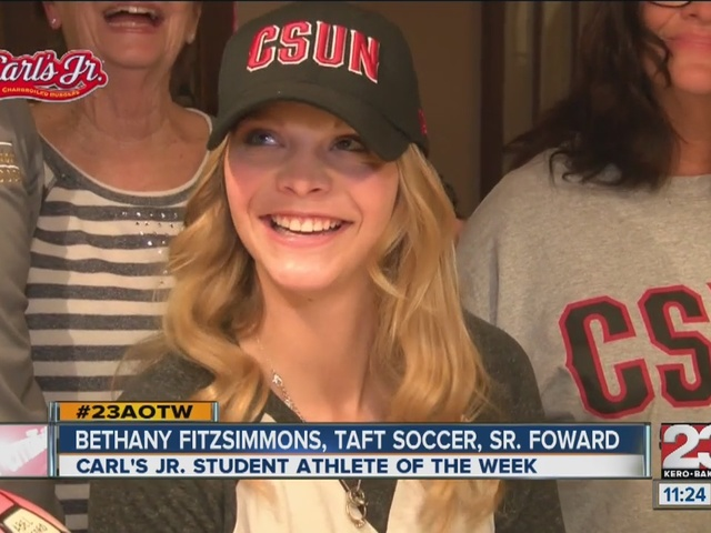 Female Athlete of the Week: Bethany Fitzsimmons