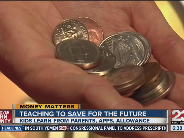 Living Moneywise: Teaching your kids to save for the future