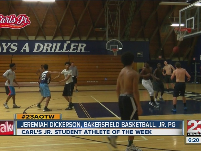 Male Athlete of the Week: Jeremiah Dickerson