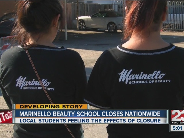 Marinello Beauty School closes nationwide