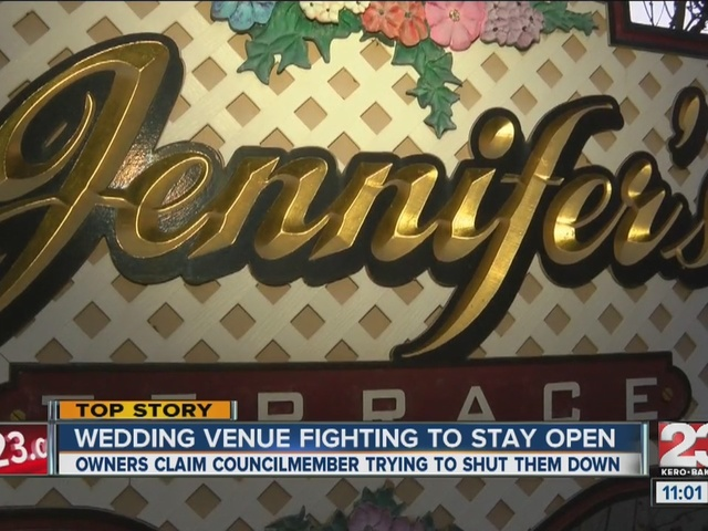 Wedding venue fighting to stay open