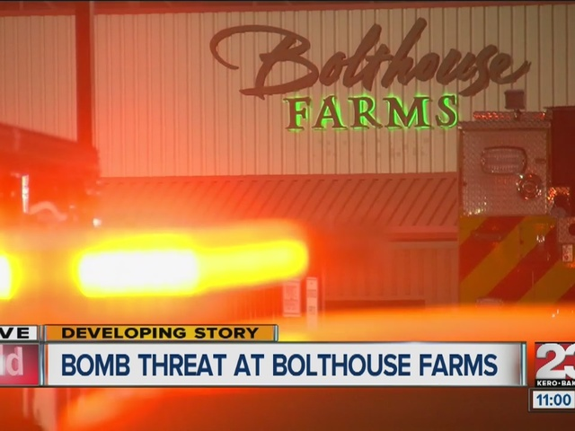 Bomb threat forces evacuation at Bolthouse Farms